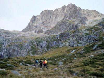 Le pic des Spijeoles (Haute-Garonne) culmine à 3.065 m d'altitude - VALENTINE CHAPUIS [AFP]