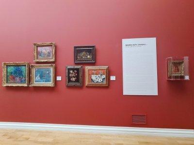 Un rappel de l'origine de ces tableaux pour les visiteurs.