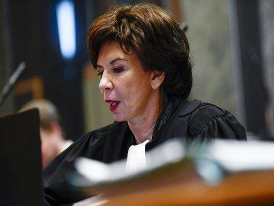 L'avocate Michèle Hirsch en janvier 2019 à Bruxelles - Dirk WAEM [BELGA/AFP/Archives]