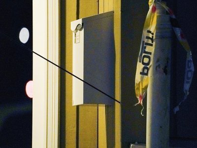 Une des flèches tirées par l'homme qui a tué 5 personnes avec son arc, à Kongsberg, en Norvège, le 13 octobre 2021 - Terje Bendiksby [NTB/AFP]