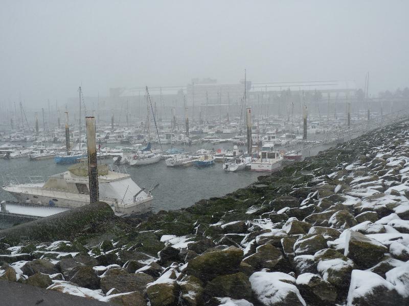 Les bateaux restent au port ce lundi. - Caradec