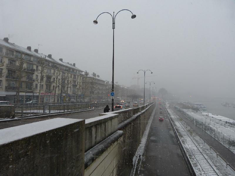 Les quais rive droite, à Rouen - Thomas Blachère