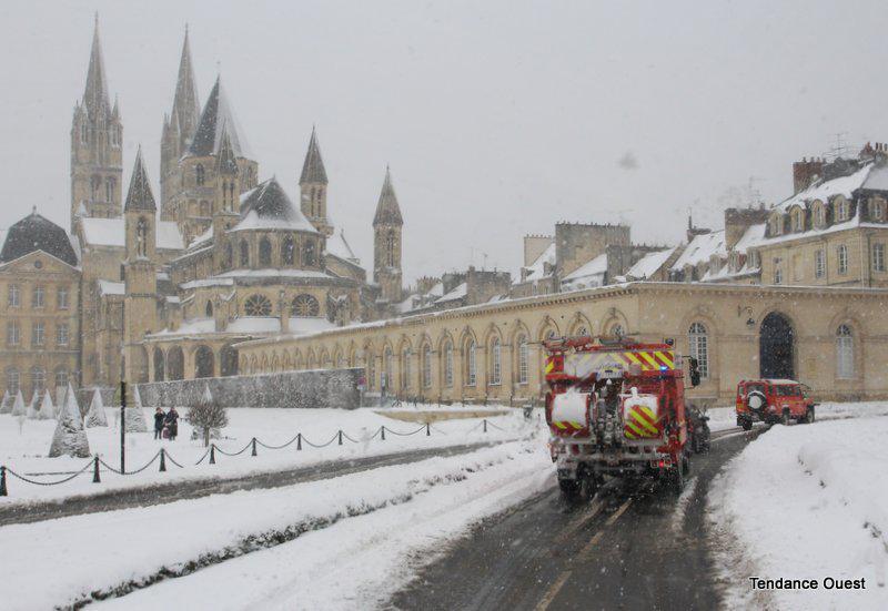 Hôteld e ville de Caen. Mardi 12 mars 2013.
