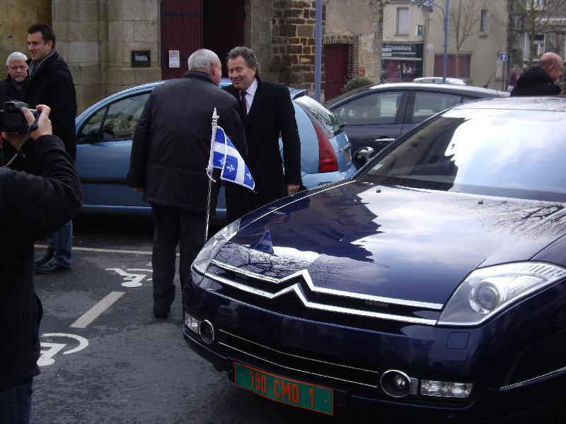 L'arrivée de Michel Robilaille, DG du Québec en France