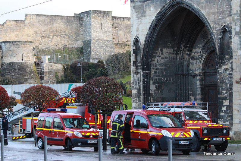Père enchaîné à Caen - Tendance Ouest Caen