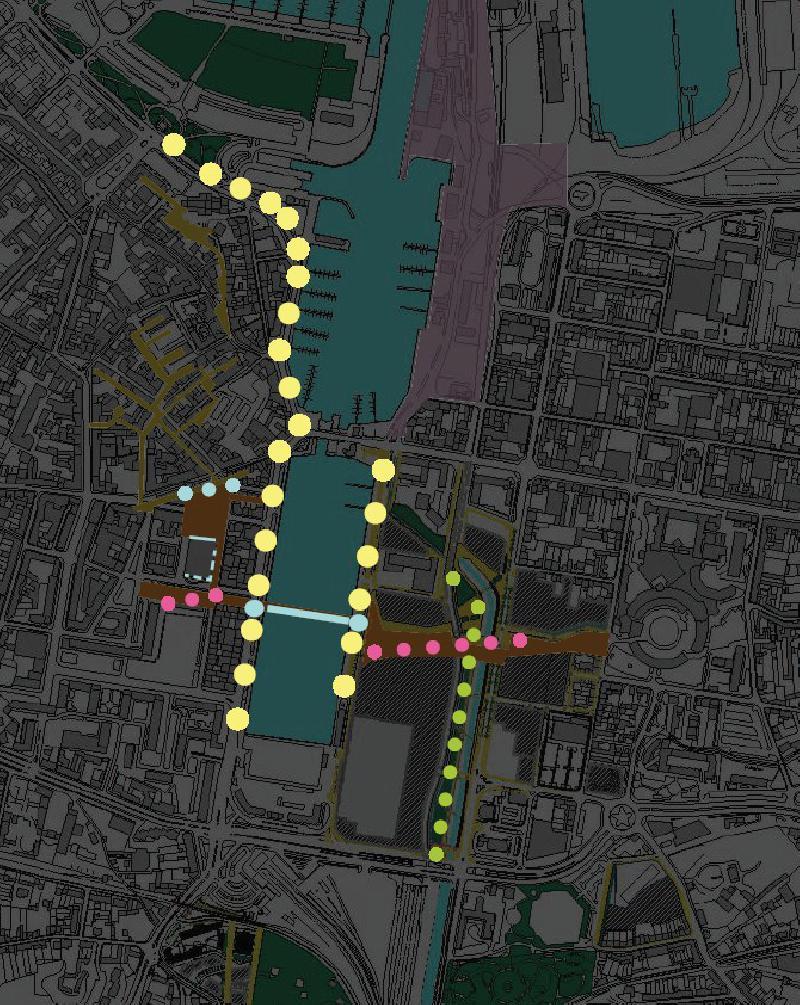 Les éclairages de Yann Kersalé du quai Caligny seront prolongés sur la rive Est.