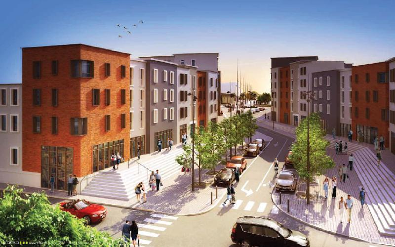 L'avenue Carnot deviendra un quartier d'habitat.