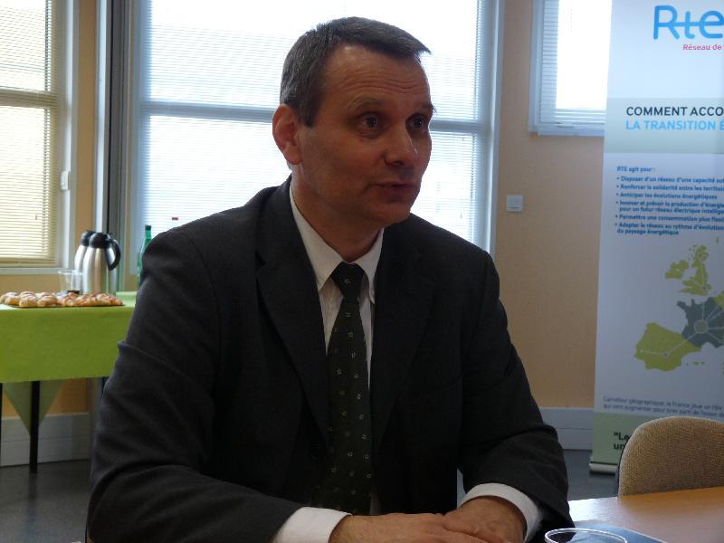 Gaëtan Desquilbet, directeur régional de RTE