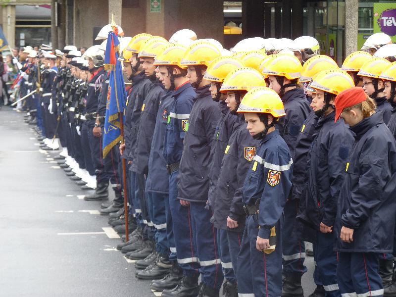 Les Jeunes Sapeurs Pompiers de la Manche étaient à Saint-Lô. - Lebranchu