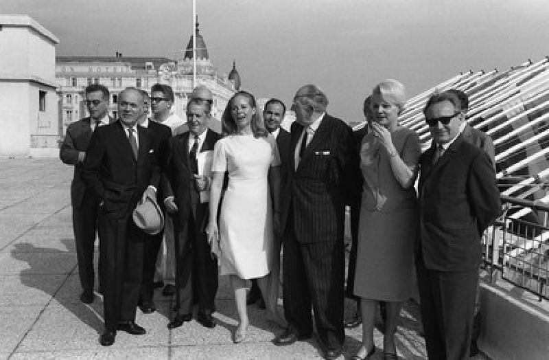 Le jury de la Palme d'Or 1964 - AFP