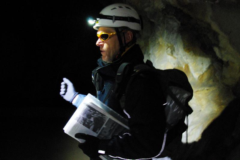 Cyrille Forafo, guide de l'association Exspen. - Célia Caradec