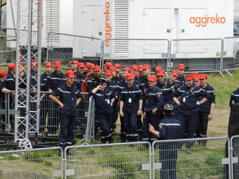Briefing pompiers - Tendance Ouest