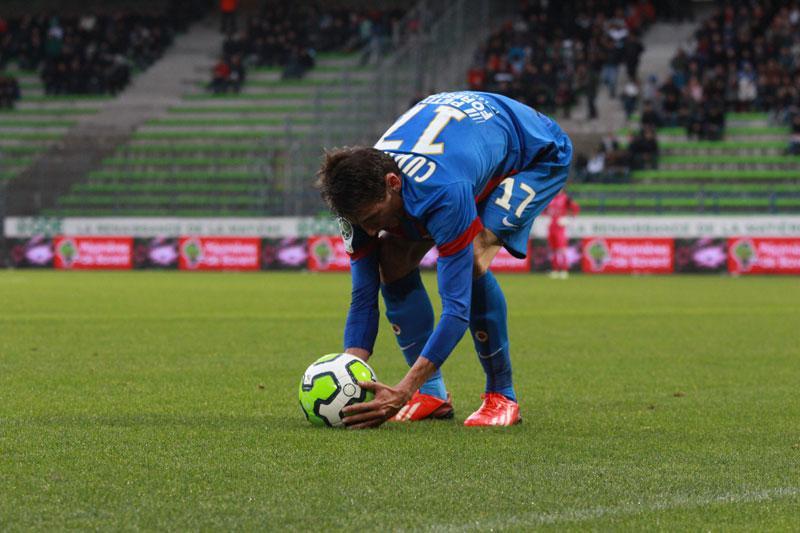 Nouveau maillot du Stade Malherbe. Saison 2013-2014.