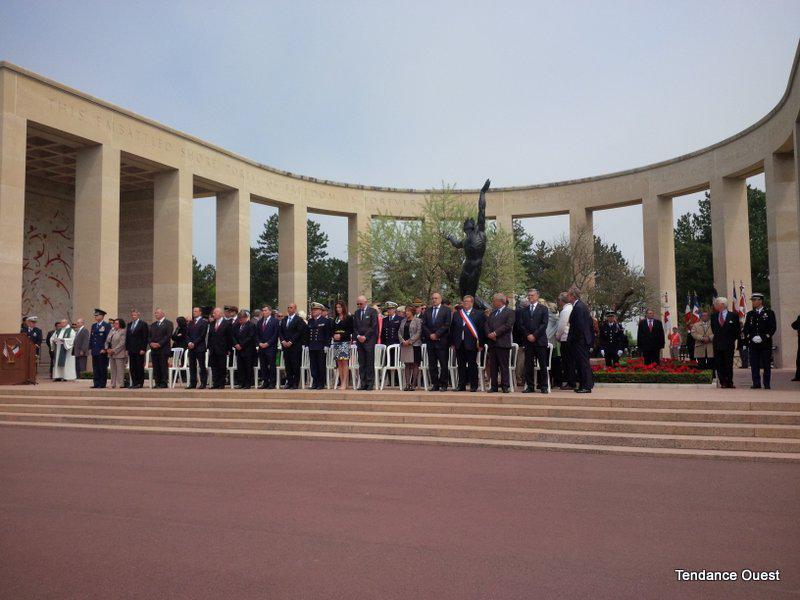 69e anniversaire du Débarquement à Colleville-sur-Mer, le 6 juin 2013. - Floriane Bléas. Tendance Ouest.