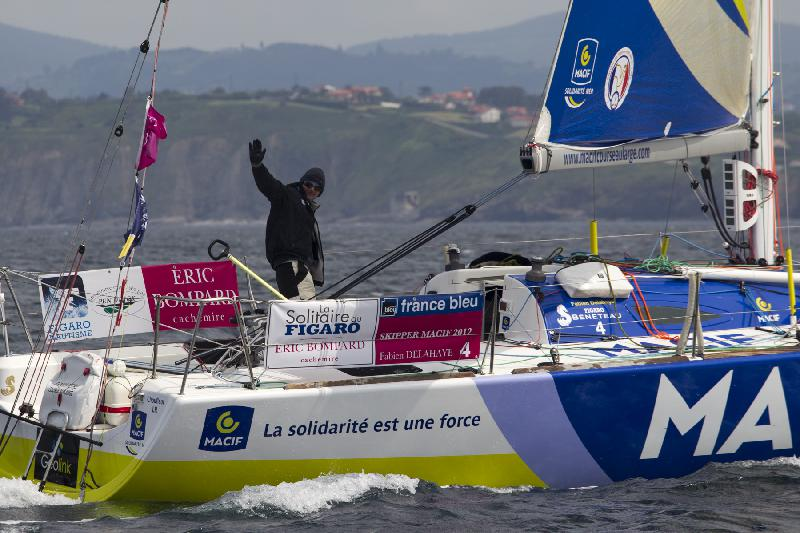 Fabien Delahaye, 9e de la seconde étape. - Maxime Flipo
