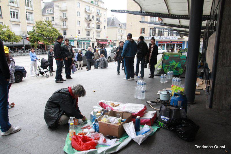 Droit des étrangers à Caen. - Maxence Gorréguès. Tendance Ouest