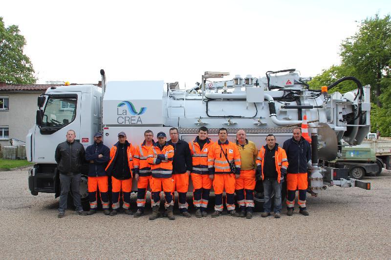 A la Direction de l'assainissement de la Crea, la Régie de Rouen compte 18 opérateurs-cureurs, les égoûtiers, tous aptes à descendre dans les profondeurs rouennaises.