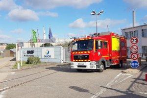 BASF en Seine-Maritime: fuite de gaz en cours, l'usine Seveso confinée