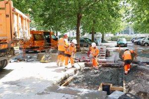 Ouvriers de chantier à Caen: comment gèrent-ils la canicule?