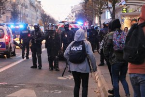 Grève du 5 décembre : neuf personnes interpellées