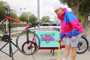 Avec Rose Cambouis, ilpédale pour réparer les vélos au domicile des clients