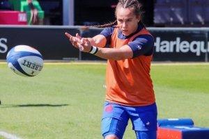 Rugby à 7: la Fécampoise Jade Ulutule en argent avec les bleues aux JO