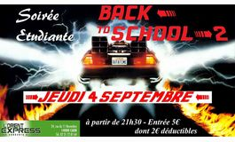 Rentr�e �tudiante � Caen : Soir�e Back To School � l'Orient Express