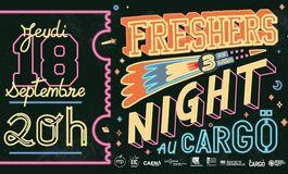 Rentr�e �tudiante � Caen : Soir�e Freshers Night au Carg� !