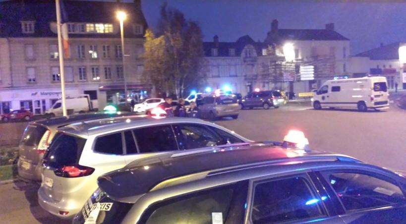 Tout un secteur d 39 alen on paralys par la manifestation des ambulanciers - Nouvelle demeure caen ...